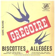 Buvard Grégoire Biscottes Allégées Grégoire - Biscottes