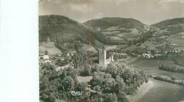 Cpsm -  Charavines Les Bains -  Vue Aérienne ,la Tour De Clermont     Af1009 - Charavines