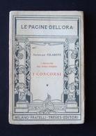 GENERALE FILARETI  I PROBLEMI DEL DOPOGUERRA I CONCORSI TREVES 67 MILANO 1920 - Libri, Riviste, Fumetti
