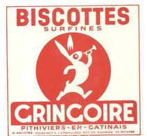 Buvard Gringoire Biscottes Surfines Gringoire - Biscottes
