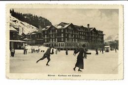 CPA - Carte Postale -Suisse-Berne -Mürren- Kurhaus Mit Eisbahn-1914 - S5006 - BE Berne