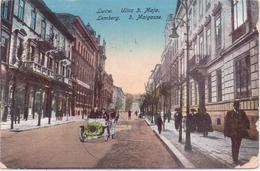 Seltene Alte AK  LWOW - Lemberg / Ukraine  - 3. Maigasse - Gelaufen 1921 - Ukraine