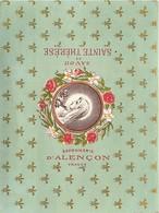 - Ref CH352- Parfumerie -image Souple 12,5cms X 9,5cms -savon De Sainte Therese -savonnerie D Alencon -france - - Cartes Parfumées