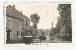 Turpange Rue De La Gare Messancy Carte Postale Ancienne Animée - Messancy