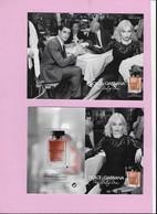 CARTE POSTALE AVEC PATCH DOLCE GABANNA - Cartes Parfumées