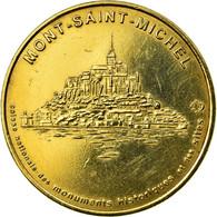 France, Jeton, Le Mont-Saint-Michel - Vue Générale N°1, 2000, MDP, SUP - France