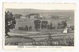 Turpange Differt Panorama Etablissement Des Pères Maristes Messancy Carte Postale Ancienne - Messancy