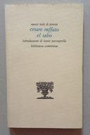 Rebellato Mazza Cesare Ruffato El Sabo Dialetto Biblioteca Cominiana  Padova - Libri, Riviste, Fumetti