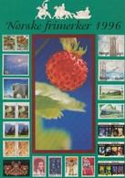 Norway 1996 Stamps Postcard - Norvège