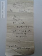 D162667  Hungary  Prescription   Dr. Goldberger - Fegyvernek  1926 -Judaica - Factures & Documents Commerciaux