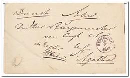 Brief Naar Cuyk, Afstempeling Boxmeer 18/5 1861 - Periode 1852-1890 (Willem III)