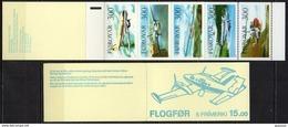 Iles Féroé - Carnet - 1985 - Yvert N° C119 ** - Le Service Aérien Des Iles - Faroe Islands