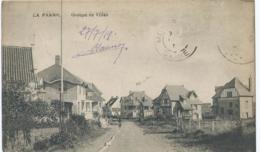 """De Panne - La Panne - Groupe De Villas - Edit. Coopérative """" Ons Huis """" - 1919 - De Panne"""