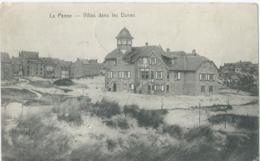 De Panne - La Panne - Villas Dans Les Dunes - Star 1632 Heliotypie De Graeve - De Panne