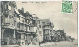 """De Panne - La Panne - Villas Sur La Digue - Edition """" Au Petit Bonheur """" - 1909 - De Panne"""