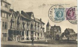 De Panne - La Panne - Le Square Bonzel - Star 1695 - Heliotypie De Graeve - De Panne