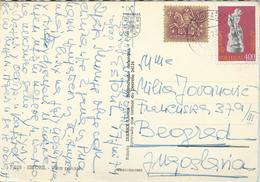 Portugal Postcard Via Yugoslavia 1974.nice Stamps Europa Stamp.Postcard - Estoril - Covers & Documents