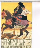 PUBLICITE   SEVILLA  FERIA 1934 - Publicité