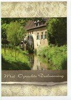 GRIMBERGEN (Vlaams-Brabant) - Molen/moulin - Sfeervolle WENSKAART (condoleancekaart) Incl. Envelop Van De Liermolen - Grimbergen
