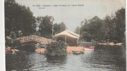 ***  LISBAO  ***    LISBOA Lago Do Parque De Campo Grande  - TTB Unused - Lisboa