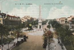 ***  LISBAO  ***    LISBOA  Avenida Da Libertade - Timbre Arraché - Lisboa