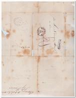 Brief Naar Rotterdam, Afstempeling Boxmeer 18/10 1862,  Na Posttijd En Rotterdam 19/10 - Periode 1852-1890 (Willem III)