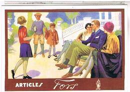 PUBLICITE  ARTICLES FORS - Publicité