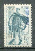10829  TUNISIE  N°334 ** 12F+3F Vert Foncé: Journée Du Timbre  Facteur   1950  TTB - Tunisia (1888-1955)