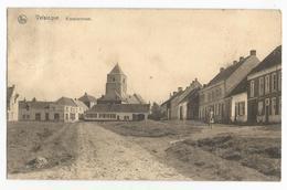Velzeke Ruddershove Kloosterstraat Sint Martinuskerk Oude Postkaart Zottegem Velsicque - Zottegem