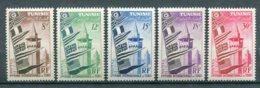 10830  TUNISIE  N°360/4 **  1ére Foire Internationale De Tunis    1953  TTB - Tunisia (1888-1955)
