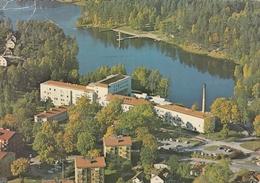 Finspang - Flygbild Over Lasarettet 1973 - Sweden