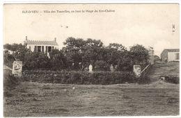 ILE D' YEU (85) - Villa Des Tourells, En Face La Plage Du Ker-Châlon - Ed. Dugas Et Cie, Nantes - Ile D'Yeu