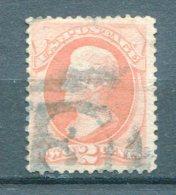 10843 ETATS-UNIS N°40 ° 2c. Orange  Jackson   TB - 1847-99 Emissions Générales