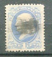 10845 ETATS-UNIS N°50A ° 1c. Bleu-gris  Franklin   TB - 1847-99 Emissions Générales