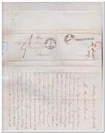 Brief Naar Heumen, Afstempeling Boxmeer 2/7 1863,  En Vierlingsbeek, Nijmegen 2/7 1863 - Periode 1852-1890 (Willem III)