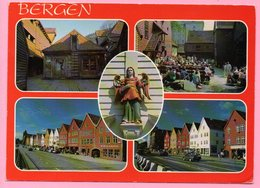 Postcard - Bergen, 1991, Norway (Norge) - Norvège