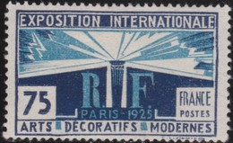 France     .   Yvert     .       215       .      *      .    Neuf Avec Charniere      .   /  .    Mint-hinged - France