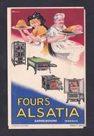 Vente Immediate Carte Publicitaire Fours Alsatia Sarrebourg Moselle - Publicité