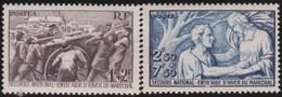 France     .   Yvert     .       497/498       .      *      .    Neuf Avec Charniere      .   /  .    Mint-hinged - Neufs