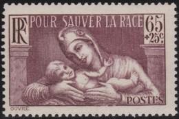 France     .   Yvert   .     356        .    *      .    Neuf Avec Charniere      .   /  .    Mint-hinged - France