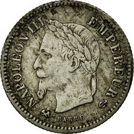 Monnaie, France, Napoleon III, Napoléon III, 20 Centimes, 1867, Bordeaux, TTB - France