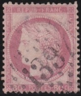 France     .   Yvert   .      57         .       O      .   Oblitéré      .   /  .      Cancelled - 1871-1875 Cérès