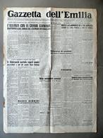 Graziani Medaglia D'Argento Gagliardetto SS Italiane Gazzetta Dell'Emila 1944 - Libri, Riviste, Fumetti