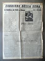 Costituzione E Ordinamento Esercito Repubblicano Corriere Della Sera 21/11/1943 - Libri, Riviste, Fumetti