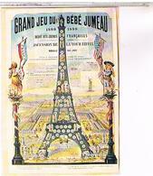 PUBLICITE   CPM GRAND JEU BEBE JUMEAU 1889 - Publicité
