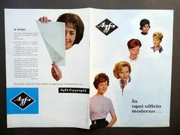 Agfa Copyrapid Fotoriproduttore Ufficio Brossura Pubblicità Grafica Anni '50 - Non Classificati