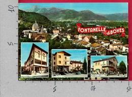 CARTOLINA VG ITALIA - FONTANELLE DI BOVES (CN) - Alberghi E Ristoranti Vedutine Multivue - 10 X 15 - ANN. 1971 - Cuneo