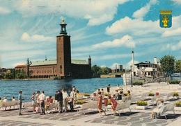 Stockholm - Stadhuset , Ship Diana 1971 - Sweden
