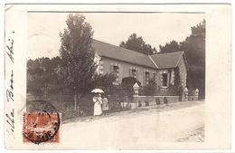 Supposé SAINT JEAN DE MONTS (85) - CARTE PHOTO  - VILLA BON ABRI - Saint Jean De Monts