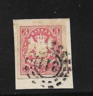 D-Bay060 /  Bayern,  Mi.Nr. 15, Mühlrad  311 (+ 3) Memmingen - Bavaria